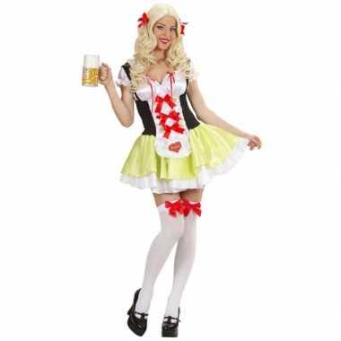 Carnaval  Tiroler biermeisje kostuum Ulrike