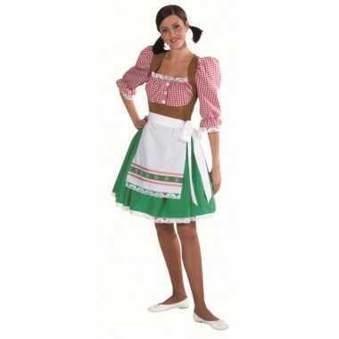 Carnaval  Tiroolse kleding vrouwen kostuum