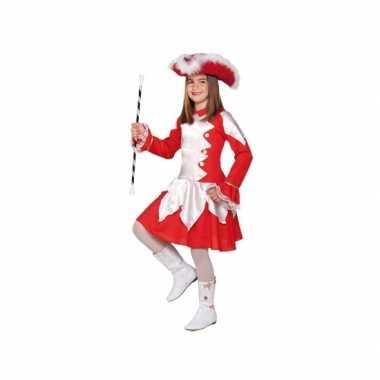 Carnaval  Twirl verkleedkostuum rood meiden
