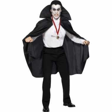 Carnaval  Vampier kostuum opstaande kraag