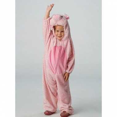 Carnaval varkens kostuum kinderen