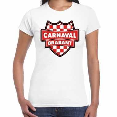 Carnaval verkleed t kostuum brabant wit voor dames