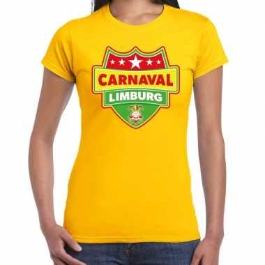 Carnaval verkleed t kostuum limburg geel dames