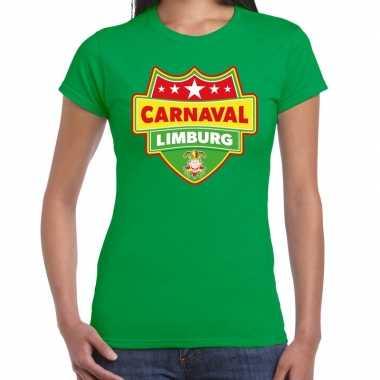 Carnaval verkleed t kostuum limburg groen dames