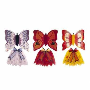 Carnaval  Vlindervleugeltjes kinderen kostuum