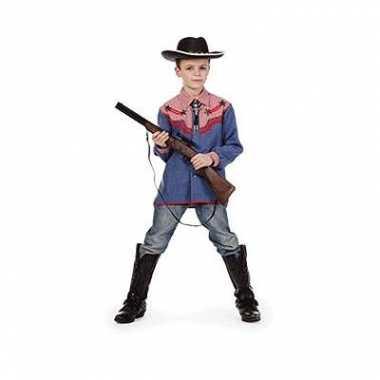Carnaval  Western overhemd kinderen kostuum