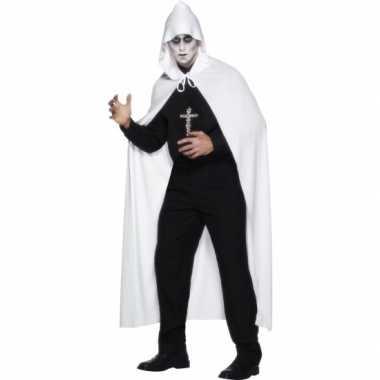 Carnaval  Witte clan kostuum lang