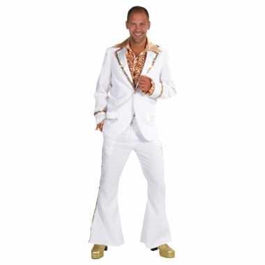 Carnaval  Witte seventies kostuum heren