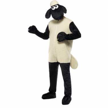 Carnaval zwarte schapen kostuum volwassenen