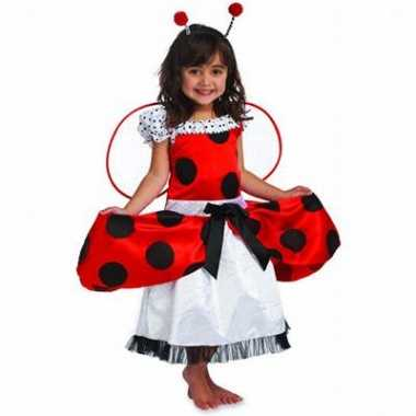 Carnaval  Zwarte stippen kostuum jurk meisjes