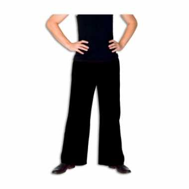 Carnaval  Zwarte verkleed broek heren kostuum