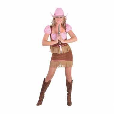 Carnavals kostuum cowgirl dames