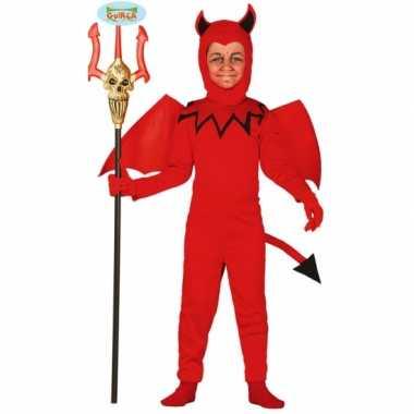 Carnavals kostuum kinderen duiveltje