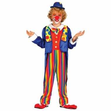 Carnavalskleding clown kostuum kinderen