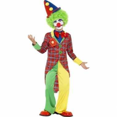 Carnavalskleding clown kostuum