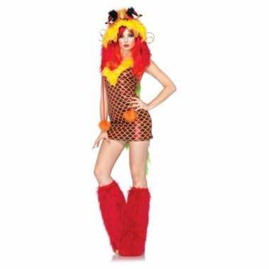 Carnavalskleding draak vrouwen kostuum
