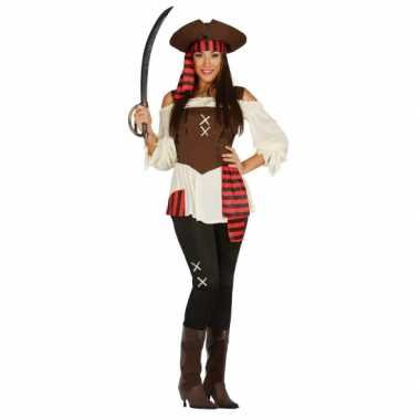 Carnavalskleding piraat dame kostuum
