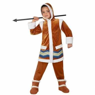 Eskimo carnaval kleding kids kostuum