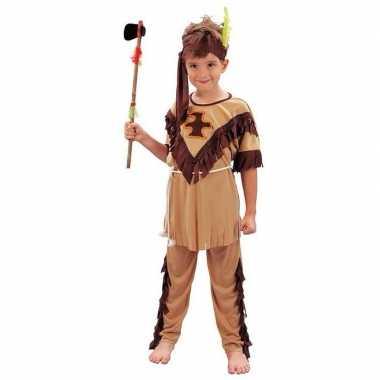 Kinder carnaval kleding indiaan kostuum