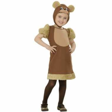 Kleuter carnaval kleding beer kostuum