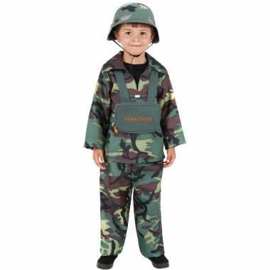 Leger carnaval kleding kinderen kostuum