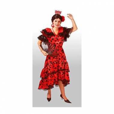Spaans carnaval kostuum jurk dames