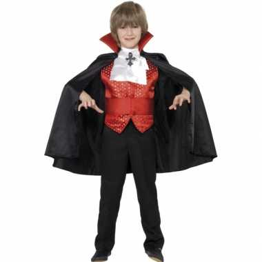 Vampier carnaval kleding kind kostuum