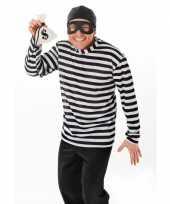 Carnaval dief of inbrekers kostuum