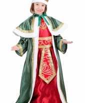 Carnaval kerst kostuum drie wijzen uit oosten