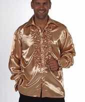 Carnaval leuk rouches kostuum goud