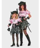 Piraat carnaval kleding dames kostuum